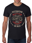 Men's TShirt - HEROIC Destination or Bust