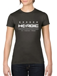 Women's TShirt - HEROIC Racing Leathers - General