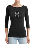 Women's TShirt - HEROIC Trident Angel 1/2 Sleeve