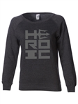 Women's Sweatshirt - HEROIC Stacked Logo