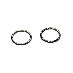 Jump Ring Twist 8mm