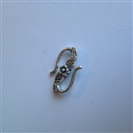 """S"" Clasp Pewter"