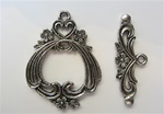 Toggle Pewter Victoria Style