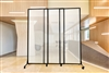 "Medi-Wall Quick-Wall Sliding Portable Partition (Choose 5'10"", 6'8"", 7'4"" Heights)"