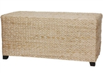 Rush Grass Rectangular Coffee Table