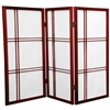 3 ft. Tall Double Cross Shoji Screen- (more finishes and panels)