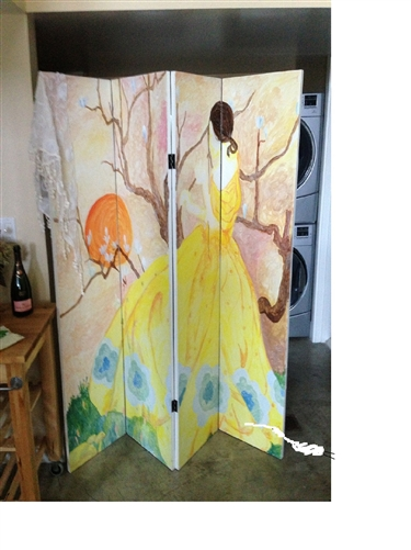 Diy 6 Ft Tall Do It Yourself Canvas Room Divider Screen More Panels Available