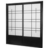 7 ft. Tall Eudes Shoji Sliding Door Kit (Double-Sided)