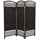 4 ft. Tall Fiber Weave Room Divider (more panels & colors)
