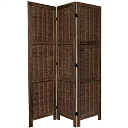 5½ ft. Tall Bamboo Matchstick Woven Room Divider Screen (more panels & finishes)