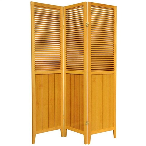 6 ft Tall Beadboard Room Divider Screen more panels finishes