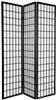 6 ft. Tall Window Pane Shoji Screen-(more panels & finishes)