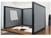 2'FT or 3'FT Tall Table Top Display Folding Screen Partition (more colors available)