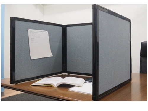 2ft Or 3ft Tall Table Top Display Folding Screen Partition More
