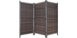 6ft Tall Outdoor Wicker Privacy Partition (6ft or 10ft wide options)