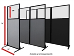 Work Station Privacy Partition Panel (3 Sizes & More Colors)