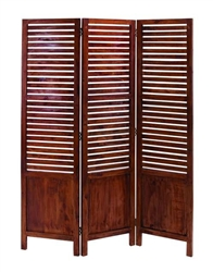 Vaquero Wooden Decorative Folding Screen