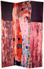 6 ft. Tall Double Sided Works of Klimt Room Divider - Block Bauer/Three Ages of Woman