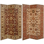 6 ft. Tall Double Sided Magic Carpet Canvas Room Divider