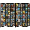 6 ft. Tall Double Sided Tarot Card Psychic Decor Room Divider Screen