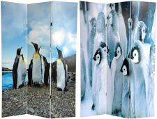6 ft. Tall Penguin Double Sided Room Divider