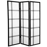 5 ft. Tall Double Cross Shoji Folding Screen Divider