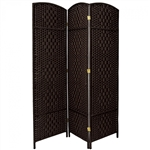 6 ft. Tall Diamond Weave Fiber Room Divider (more panels & colors)