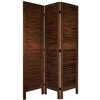 5½ ft. Tall Classic Venetian Room Divider in Burnt Finishes