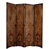 6 ft. Tall Olde-Worlde Parlor Room Divider Decorative Screen