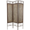 Mediterrandian Style Decorative Room Divider at 6ft Tall