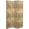 6 ft. Tall Baroque Flourish Canvas Room Divider