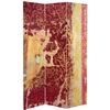 6 ft. Tall Fire Dancer Canvas Room Divider