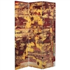 6 ft. Tall Embers Canvas Room Divider