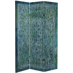 6 ft. Tall King's Garden Canvas Room Divider
