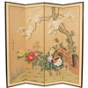 6ft Tall Harmony in Nature Silk Screen Decorative Divider