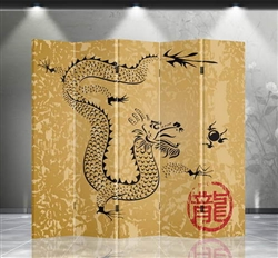 6ft Tall Double Sided Chinese Dragon (5 Panels)