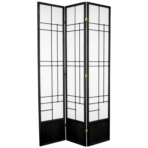 7 Ft Tall Eudes Shoji Screen Room Divider More Panels Finishes