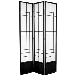 7 ft. Tall Eudes Shoji Screen Room Divider (more panels & finishes)