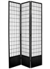 7 ft. Tall Window Pane Shoji Screen Divider (more panels & finishes)