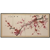 3ft Tall Plum Blossom Chinese Painting Asian Folding Screen