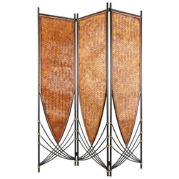 6 ft. Tall Tropical Philippine Decorative Folding Screen