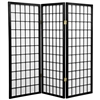 4ft Tall Window Pane Shoji Screen (more panels & finishes)