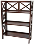 "37"" Architectural Book Case Shelf Unit"