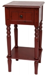 "28"" Classic Design Square Accent Table"