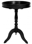 "26"" Tray Top Pedestal Table"