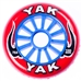 100mm x 78a YAK Classic urethane scooter wheel