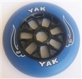 120mm x 88a YAK Blue Black High Performance Scooter/Race Wheel