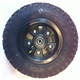 "200x50 - 8"" pneumatic tire w/5 spoke rim and 12mm I.D. bearings"