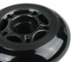 72mm x 84a Inline Skate Wheel, Black