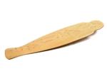 "8.5"" x 43"" SINGLEKICK FISHTAIL, 9-PLY CANADIAN MAPLE W/O GRIPTAPE"